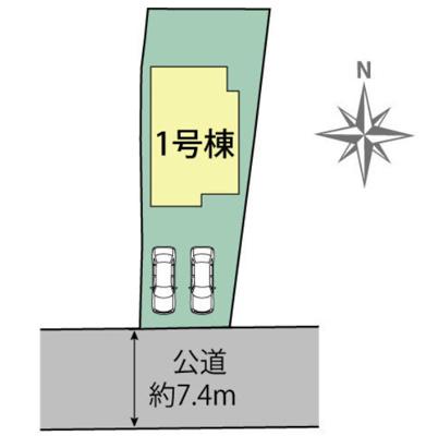 【区画図】小野市王子町 新築