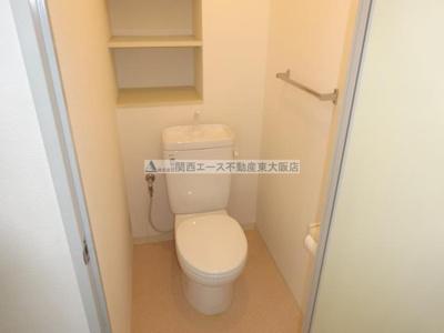 【トイレ】翔開マンションⅠ