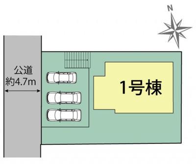 【区画図】三木市志染町中自由が丘3丁目