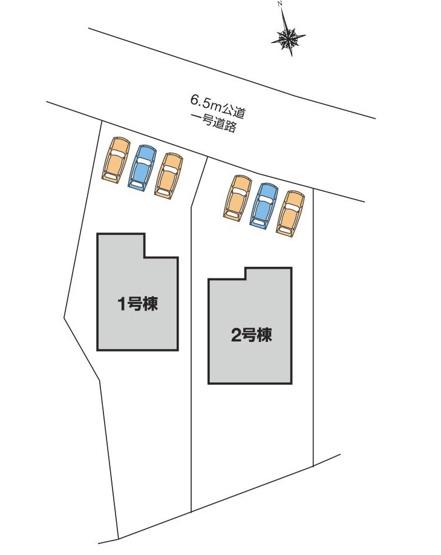 【区画図】高崎市岩鼻町第2 1号棟/LiveleGarden.S