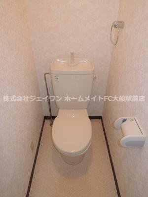 【トイレ】ベルハウス本郷台