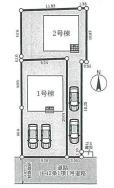 【区画図】葛城市尺土第3 新築(全2棟)2号棟