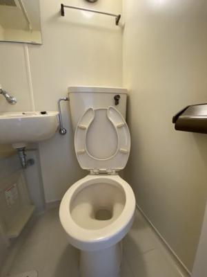 【トイレ】サンパレス21六甲Ⅰ