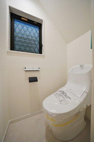 【トイレ】新規内装リフォーム済♪保土ケ谷区狩場町 中古戸建て