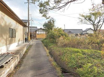 【前面道路含む現地写真】泉佐野市日根野 売土地