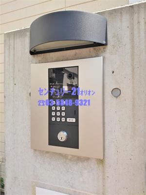 【エントランス】Lenfort(レンフォート)鷺ノ宮