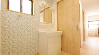 とても綺麗な洗面台