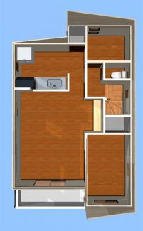 室内パース図 2階