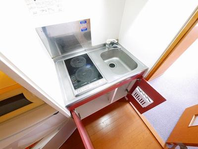 【キッチン】レオパレスめい