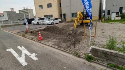 現地です。ナビゲーターむらちゃんがご案内します。 新築戸建の事はマックスバリュで住まい相談へお任せください。