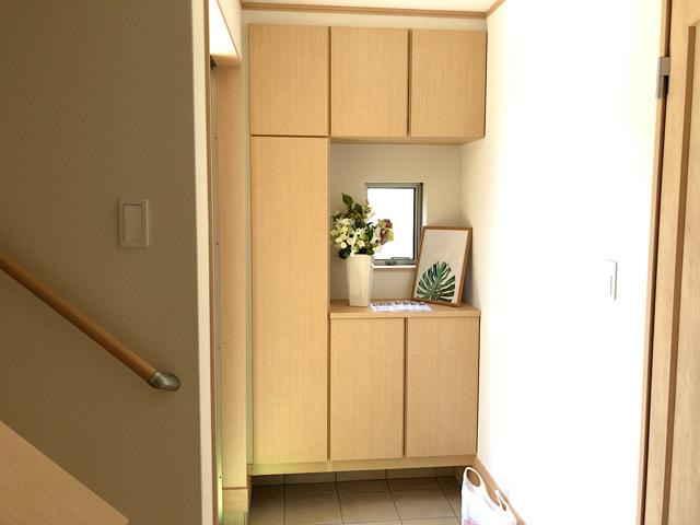 収納スペースです