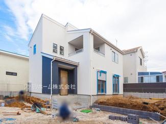 千葉市花見川区作新台 新築一戸建 ※外観施工例です。