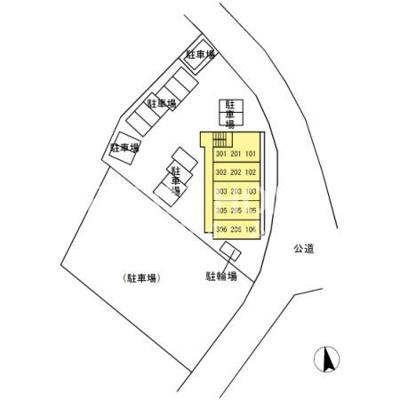 【区画図】グレイスコート