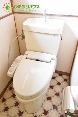 【トイレ】北本市中丸2丁目 中古一戸建て