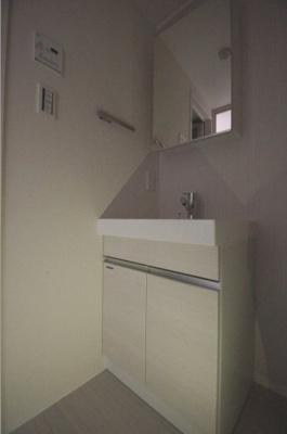 日々の生活に便利な独立洗面台