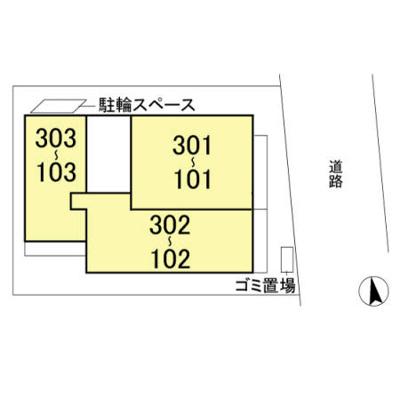 【区画図】ラディエンス