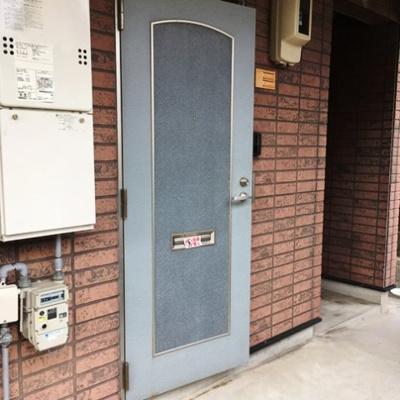 【玄関】コスモシャトー原Ⅱ