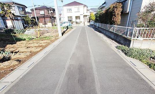 【前面道路含む現地写真】【土地】鶴ヶ島市脚折 売地 B区画