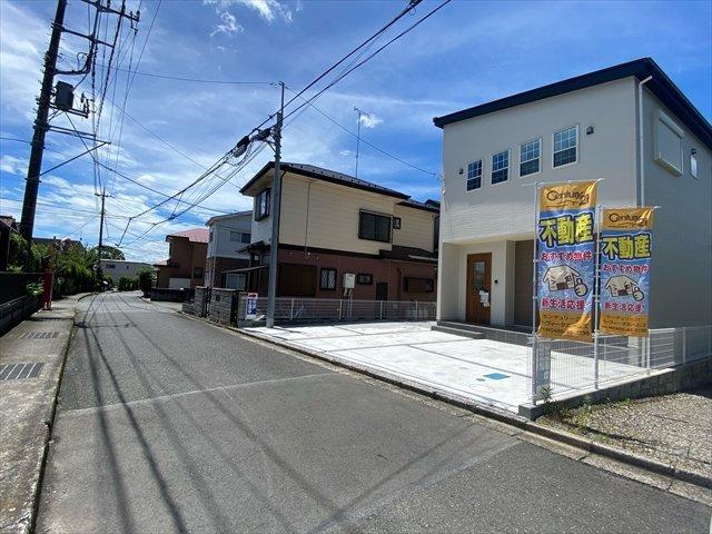 【前面道路含む現地写真】新築一戸建て「大井町金子」全1棟