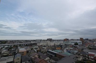 8階のお部屋で仙台が一望できます
