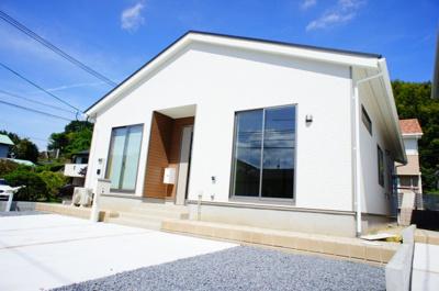 【外観】清河寺町 平屋オール電化住宅