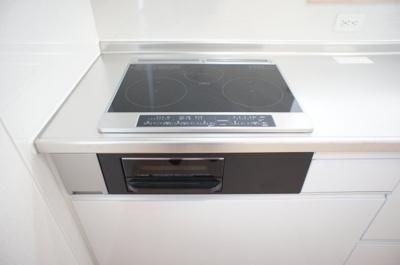 【キッチン】清河寺町 平屋オール電化住宅