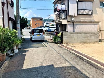 【土地図+建物プラン例】池田市宇保町 土地