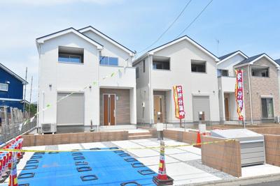 【外観】鴻巣市原馬室 新築分譲住宅 全6棟