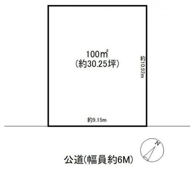 【土地図】山武市大木住宅用地