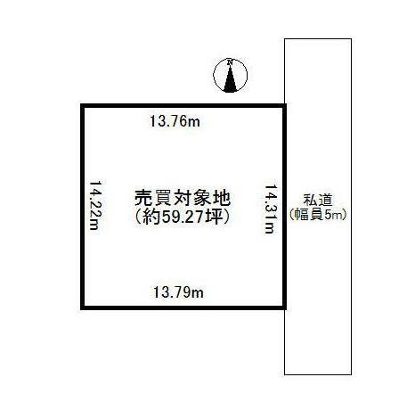 【土地図】旧平沢ニュータウン売地
