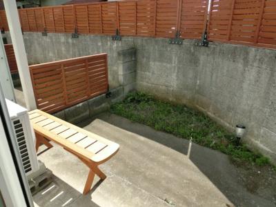 【庭】ハーバルハウス