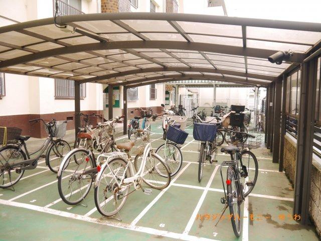 【駐輪場】第一高島平マイコーポ
