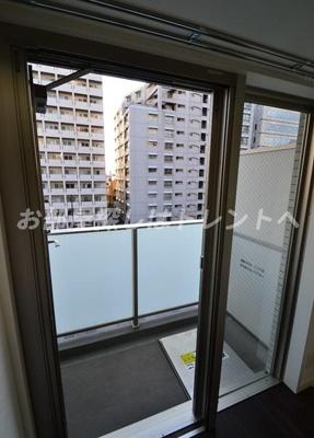 【バルコニー】ルクレ西新宿