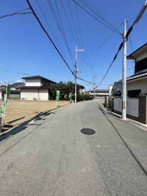 【前面道路含む現地写真】長曽根町 4区画