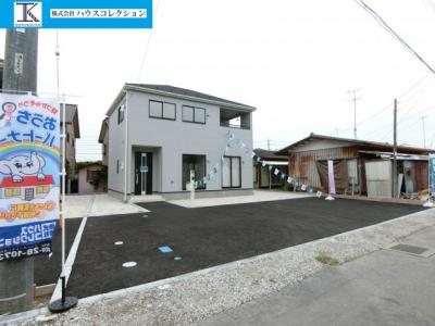 【外観】土浦市東真鍋町第4 新築戸建 2号棟