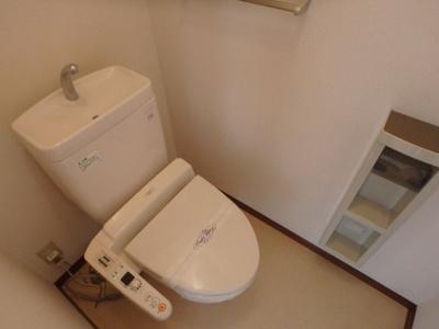 東町 ラヴィル・エストA 2DK トイレ