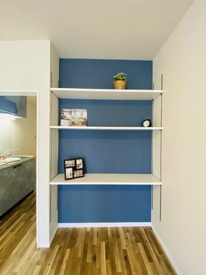 棚があるのでインテリアを飾って楽しむこともできます♪お部屋が華やぎますね☆※参考写真※
