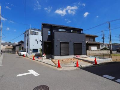 前面道路含む現地写真です:吉川新築ナビで検索♪