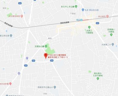【地図】メゾン・ケヤキ