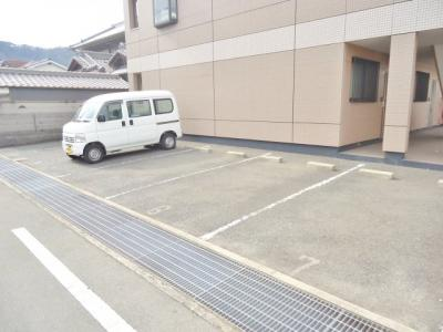 【駐車場】ハイム・ルミナス