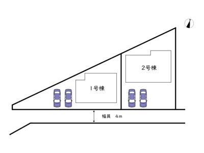 【区画図】姫路市飾磨区西浜町 第5/全2棟