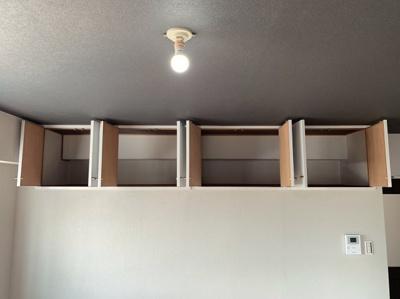 たっぷりとした収納スペースです。