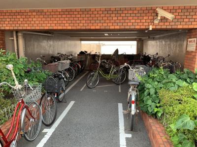駐輪所です。