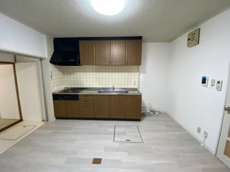 【キッチン】帝塚山1丁目 タウンハウス