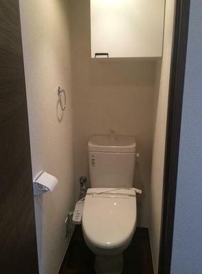 温水洗浄機能付トイレ☆