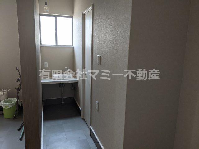 【洗面所】芝田1丁目事務所O