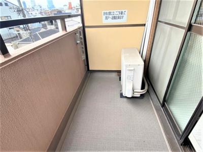 【バルコニー】朝日プラザプロシード桃谷東