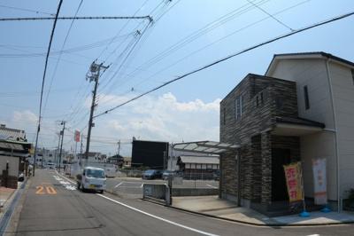 【前面道路含む現地写真】岸和田市上野町西 戸建