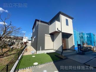 同社同仕様施工例です。東武野田線「馬込沢」駅徒歩6分の全2棟の新築一戸建です。