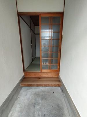 【玄関】堀文化住宅